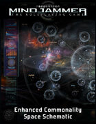 MINDJAMMER: THE ENHANCED COMMONALITY SPACE SCHEMATIC (poster map)