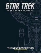 Star Trek Adventures: The Next Generation Player Characters