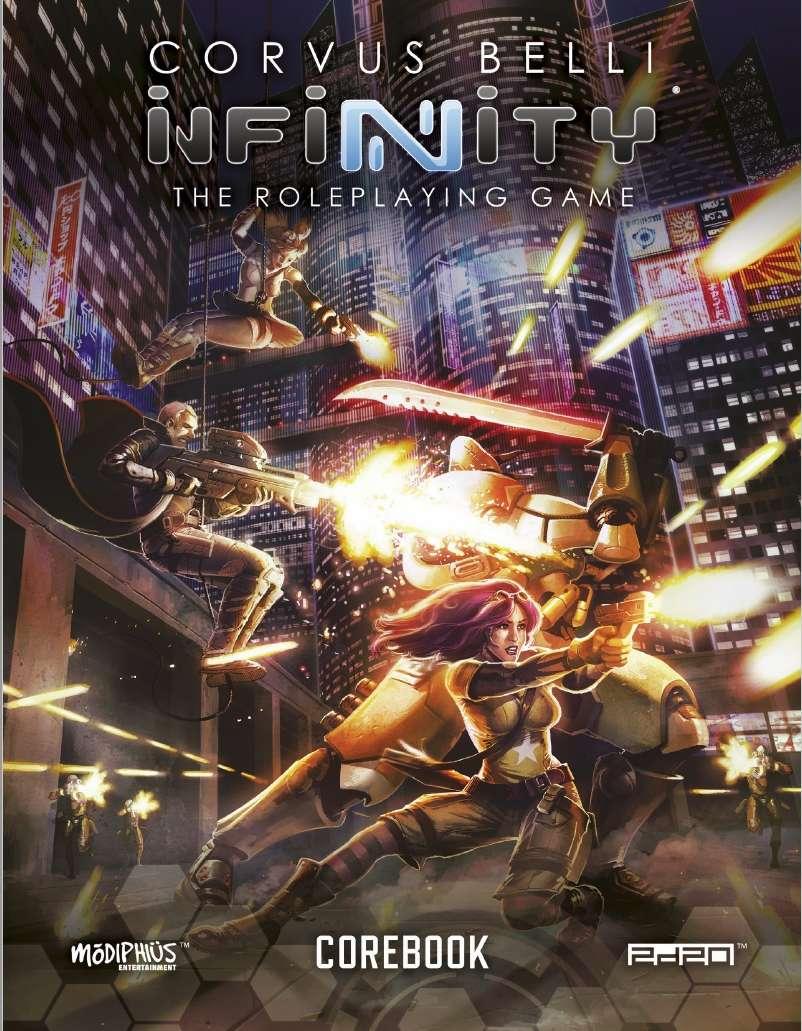Infinity: Infinity RPG Core Book - Modiphius | INFINITY