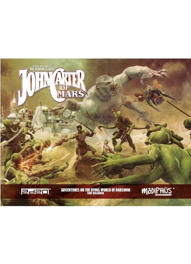 John Carter of Mars Core Rulebook
