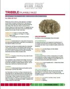 Star Trek Adventures: Tribble Player Character (FREE)