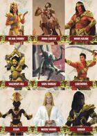 John Carter of Mars: Character and Token Card Deck