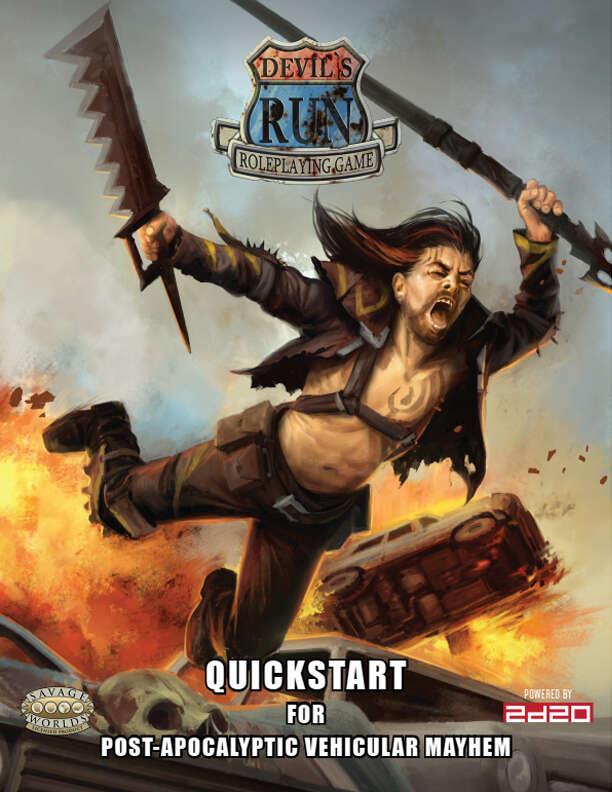Devil's Run: Quickstart - Modiphius | RPG Quickstarts