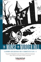 The Manse on Murder Hill
