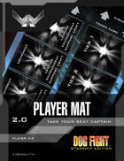 Dog Fight: Starship Edition player mat