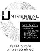 Universal Journal Triple Tracker