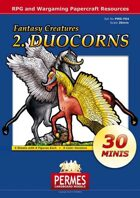 Fantasy Creatures - Set2: Duocorns