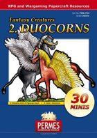 Fantasy Creatures - Set2: Duocorns
