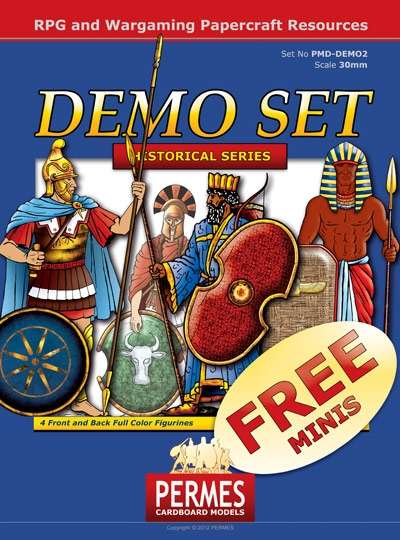 Ancient Warriors - FREE DEMO Set