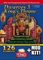 Dwarves: Set 3 - King's Throne