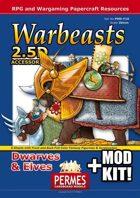 Fantasy Warbeasts - Dwarves & Elves