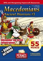 Ancient Warriors Set 3 - Macedonian Infantrymen