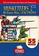 Musketeers #2 FACTIONS - 30 Years' War