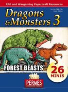 Dragons & Monsters Set 3 - Forest Beasts