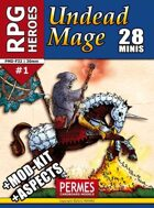 RPG HEROES #1: Undead Mage +ASPECTS +MOD-KIT