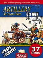 Artillery #1 - 30 Years War