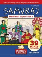 SAMURAI - Daimyo's Court - Medieval Japan Set 3