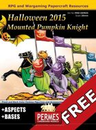 FREE Pumpkin Mounted Knights