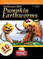 Pumpkin Earthworms - Halloween 2016