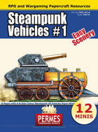 Steampunk Vehicles Set 1