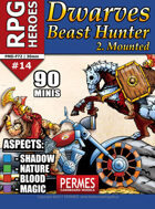 Mounted Dwarf Beast Hunters - RPG HEROES 14