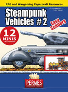 Steampunk Vehicles Set 2