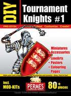 DIY Tournament Knights 1