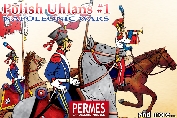 Polish Uhlans #1 - Napoleonic Wars Historical Series by PERMES - preview 1