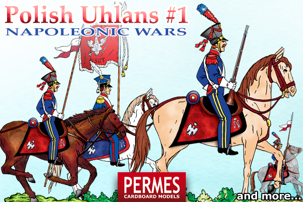 Polish Uhlans #1 - Napoleonic Wars Historical Series by PERMES - preview 2