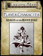 Adventures Under the Laughing Moon Pre-rolled Character Sheet - Rogue Magician