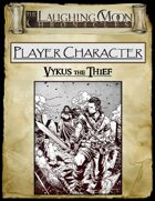 Adventures Under the Laughing Moon Pre-rolled Character Sheet - Thief