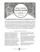 The Play's The Thing Teacher's Guide