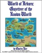 World of Arkara: Gazetteer of the Known World