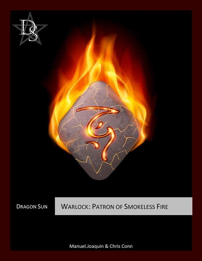 5E Warlock - Patron of Smokeless Fire - Dragon Sun