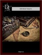 5E - 100 Half-Orc Trinkets