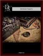 5E - 100 Monk Trinkets