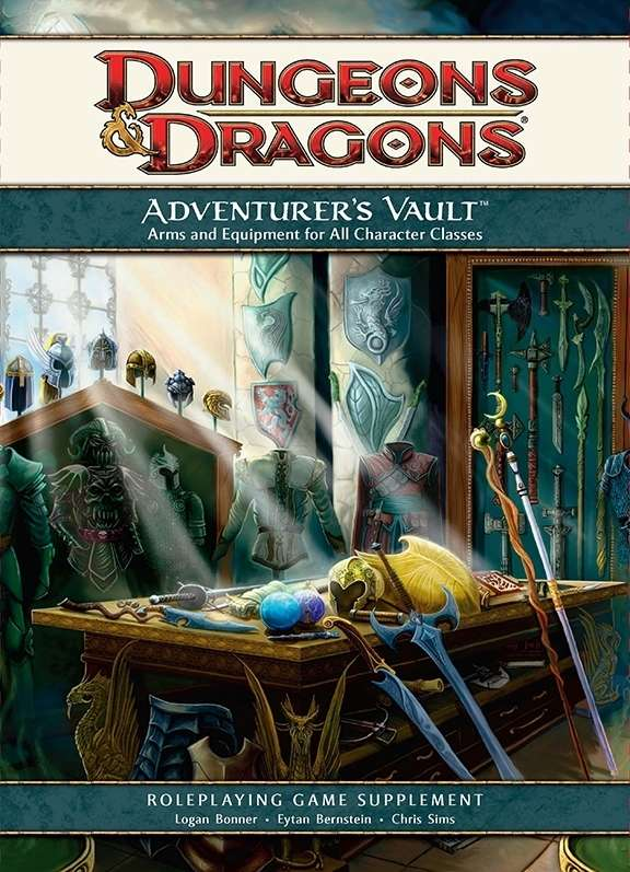 adventurer 39 s vault 4e wizards of the coast dungeons dragons 4e dungeons dragons 4e. Black Bedroom Furniture Sets. Home Design Ideas