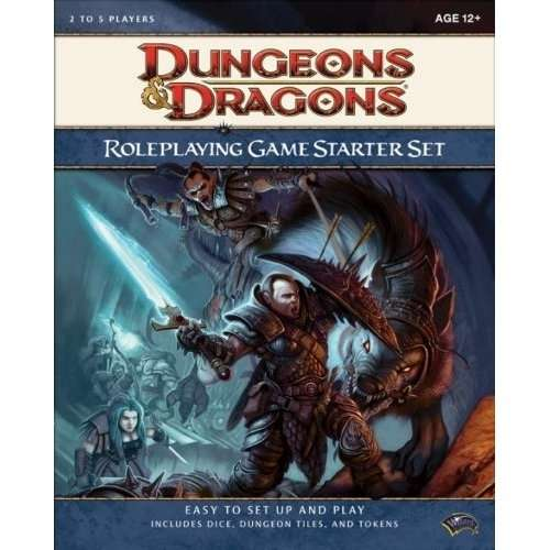 d d rpg starter set quickstart 4e wizards of the coast dungeons dragons 4e dungeons. Black Bedroom Furniture Sets. Home Design Ideas