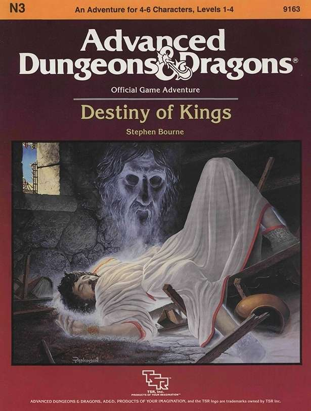 Cover of N3 Destiny of Kings