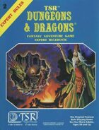 D&D Expert Set Rulebook (B/X ed.) (Basic)