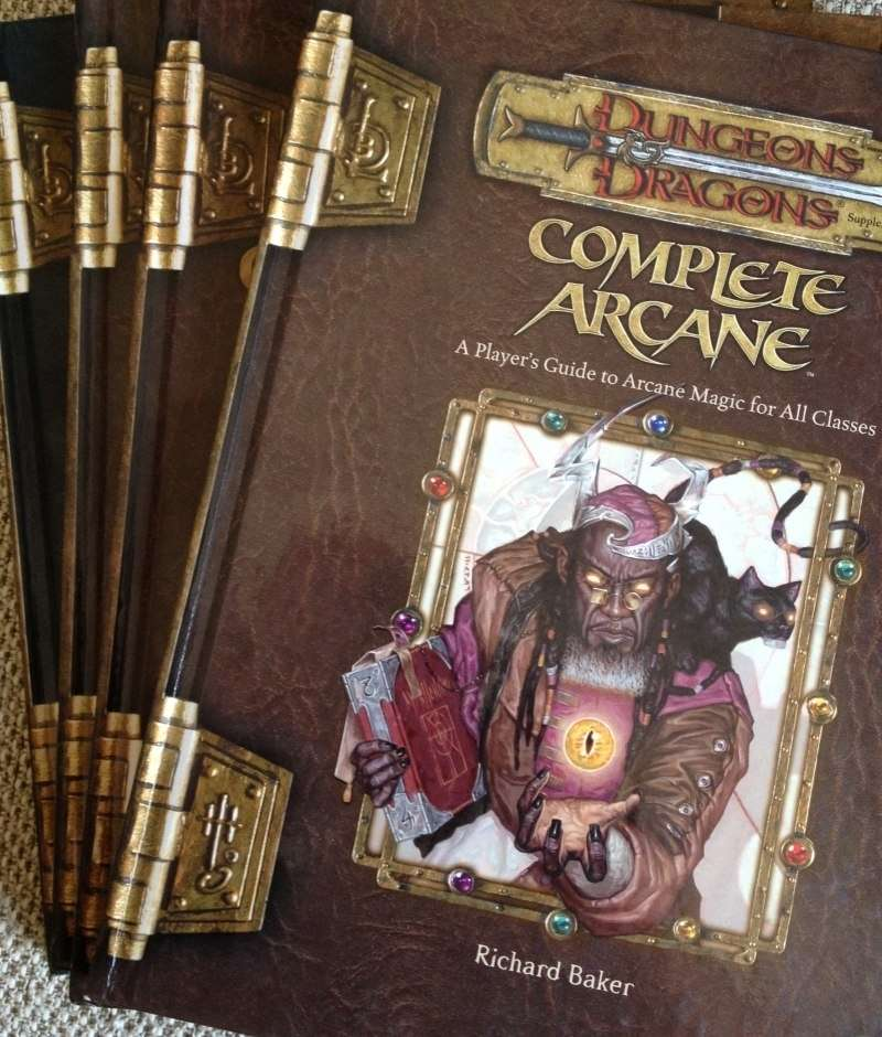 dungeons and dragons 3.5 complete arcane pdf