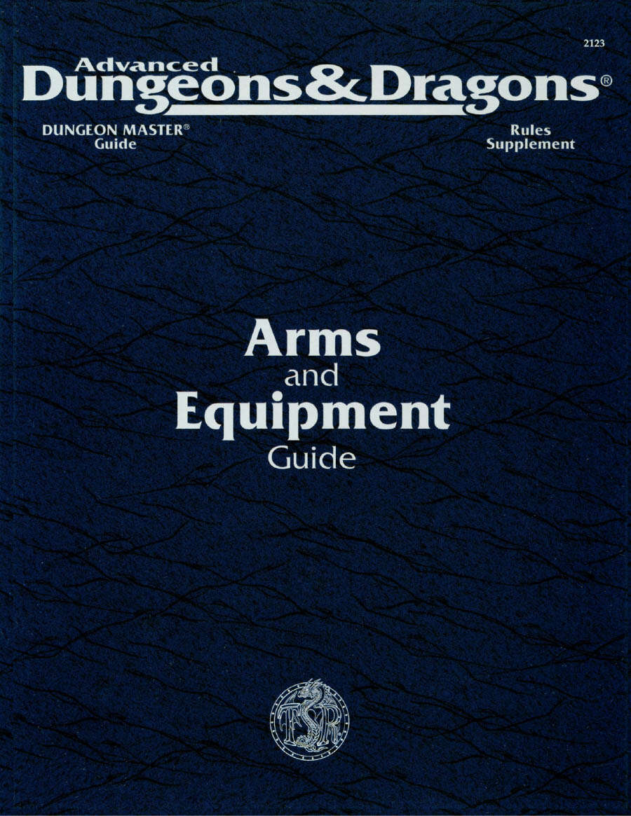arms and equipment guide pdf