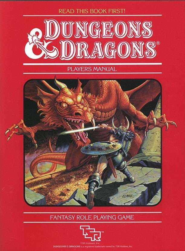 D&D Basic Set - Player's Manual (BECMI ed.) (Basic)