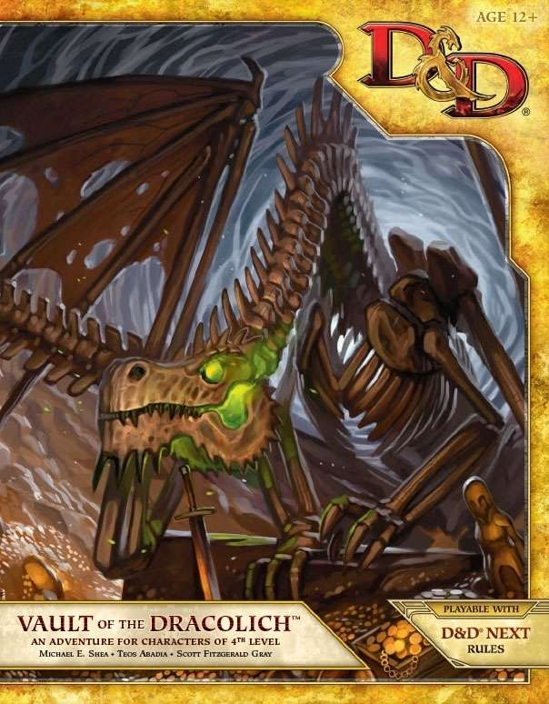 Cover of Vault of the Dracolich