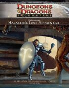 Undermountain: Halaster's Lost Apprentice (4e)