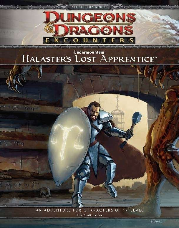 Cover of D&D Encounters Season 1 - Undermountain: Halaster's Lost Apprentice