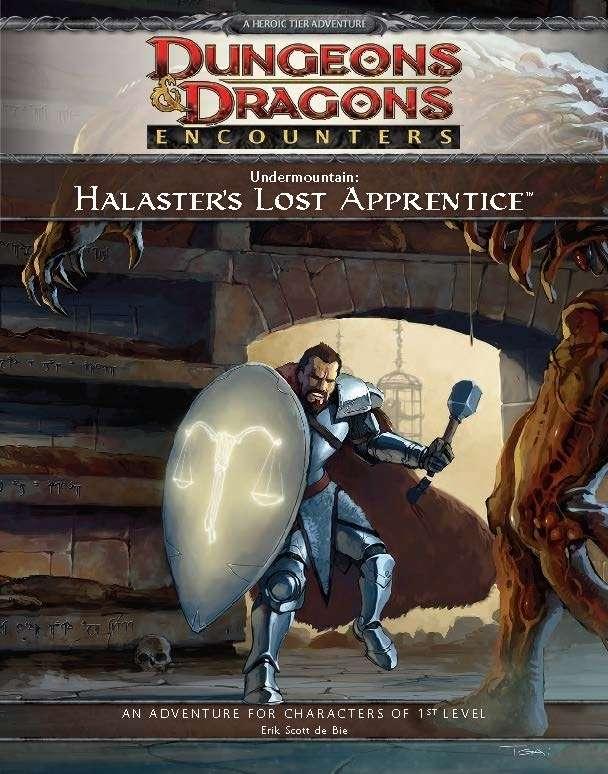Cover of D&D Encounters Season 1 - Undermountain: Halaster's Lost Apprentice