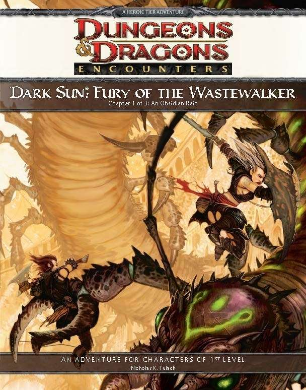 Dark Sun Fury Of The Wastewalker 4e Wizards Of The Coast