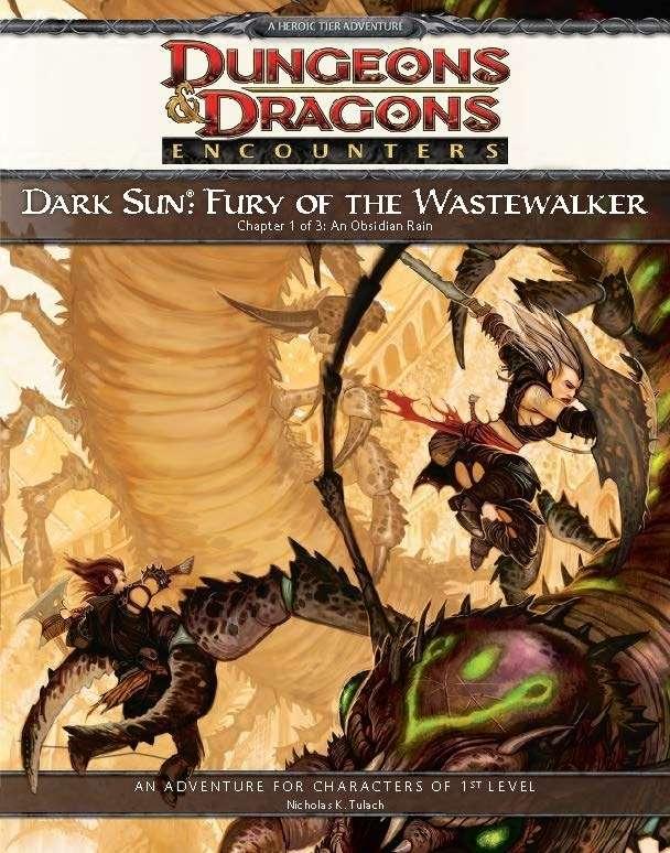 Cover of Dark Sun: Fury of the Wastewalker