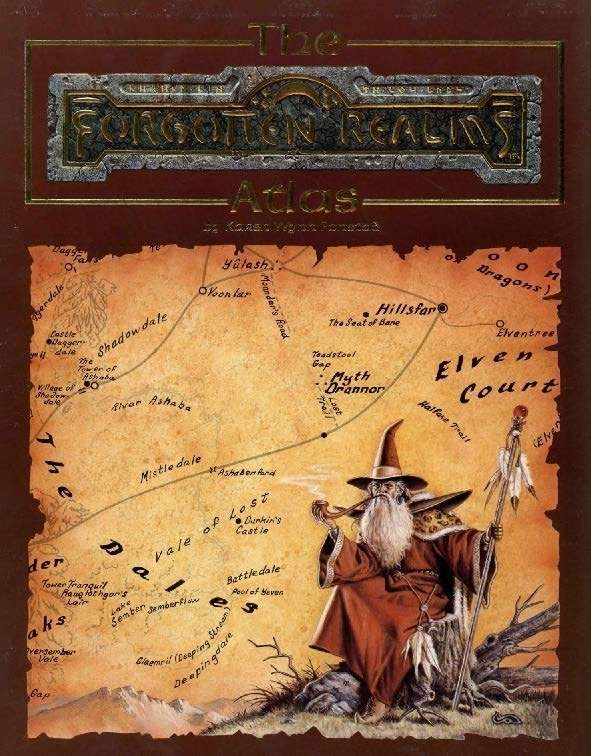 The Forgotten Realms Atlas (2e)